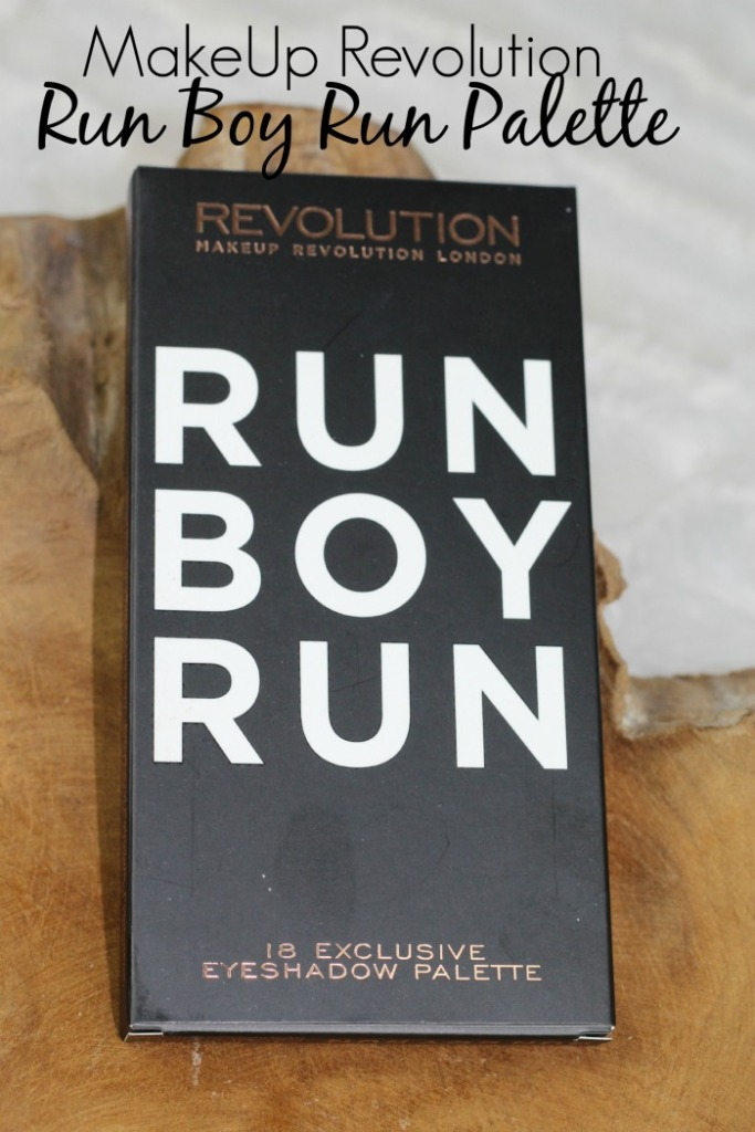 Makeup Revolution Palette Run Boy Run...
