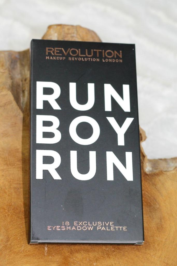 Makeup Revolution Run Boy Run Palette