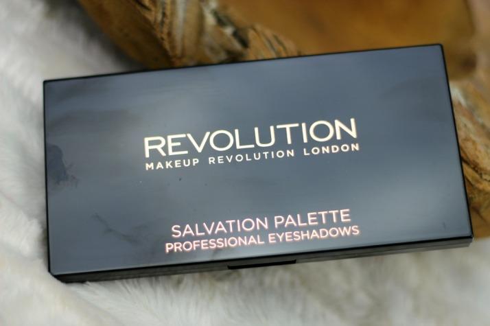 Salvation Palette Run Boy Run Makeup Revolution