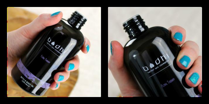 floral therapy bath & body oil Bodhi cosmetics