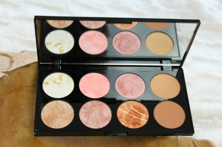 Golden sugar blush palette makeup revolution