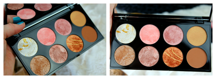 golden sugar blush palette makeup revolution...