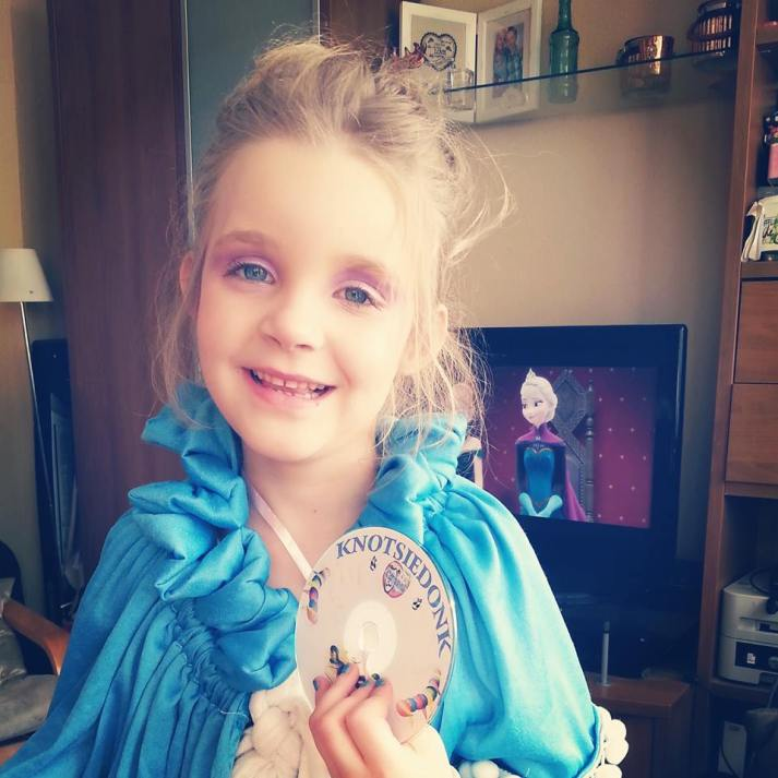 kleine Elsa heeft gewonnen