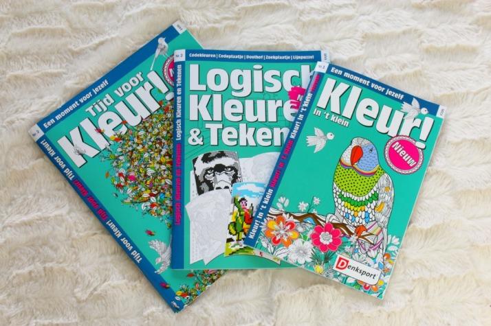 Kleurboeken voor volwassenen van Denksport