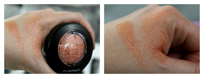 MAC Uplifing blush swatches