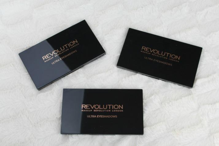 Makeup Revolution Ultra eyeshadow paletten