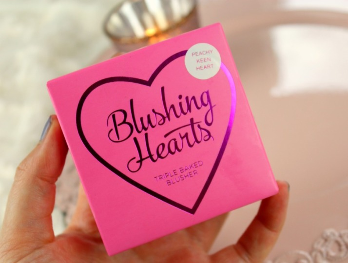 Peachy Kean Heart Blush