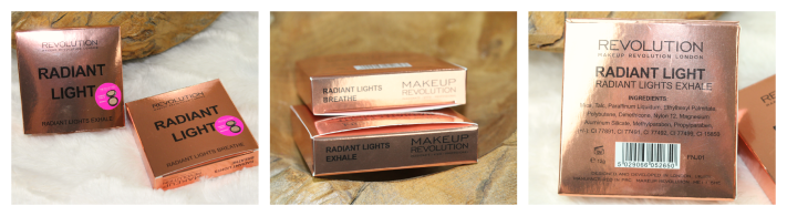 Radiant Light Makeup Revolution Breathe and Exhale