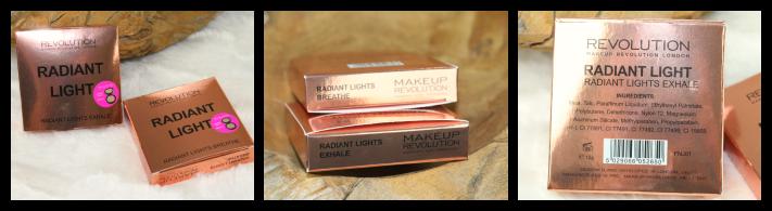 Radiant Light Makeup Revolution Breathe and Exhale