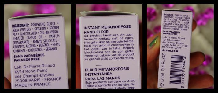 Ricaud Hand Elixer