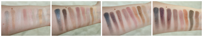 swatches Beyond Flawless Palette Makeup Revolution