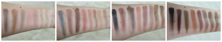 Swatches Flawless matte palette makeup revolution