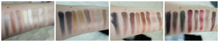 swatches flawless Palette Makeup Revolution