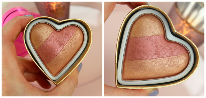 Triple Baked Blusher Peachy Kean Heart Makeup Revolution