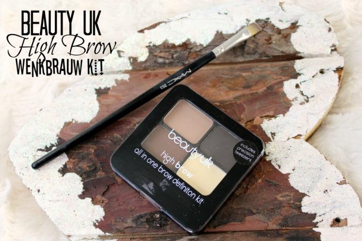 Beauty Uk High Brow wenkbrauw kit