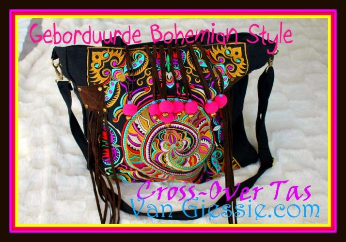 Bohemian style tas van Giessie.com