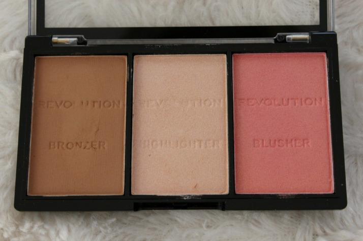 Contour kit makeup revolution na swatchen