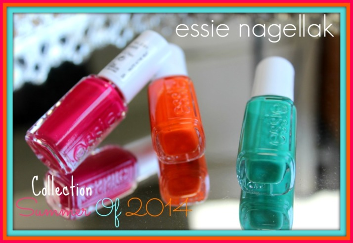 Essie Nagellak Sumer of 2014 collection