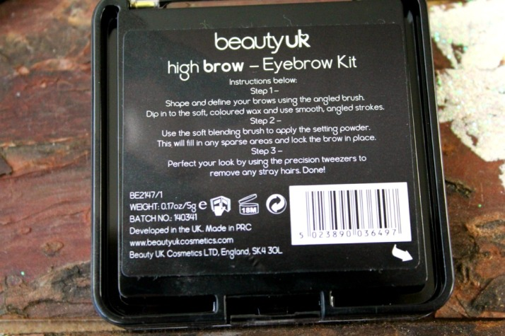 eyebrow kit high brow beautyuk