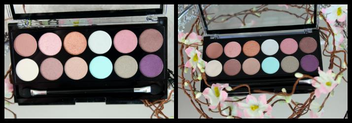eyeshadow palette spring break MUA