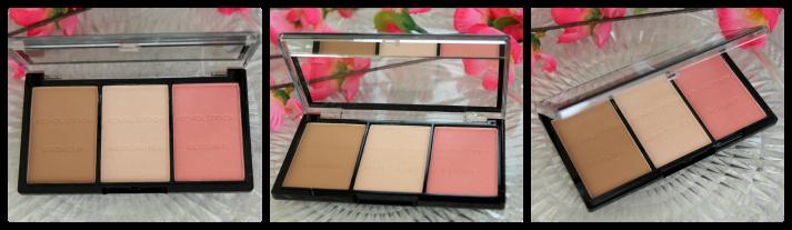Makeup Revolution ultra Brightening contour kit