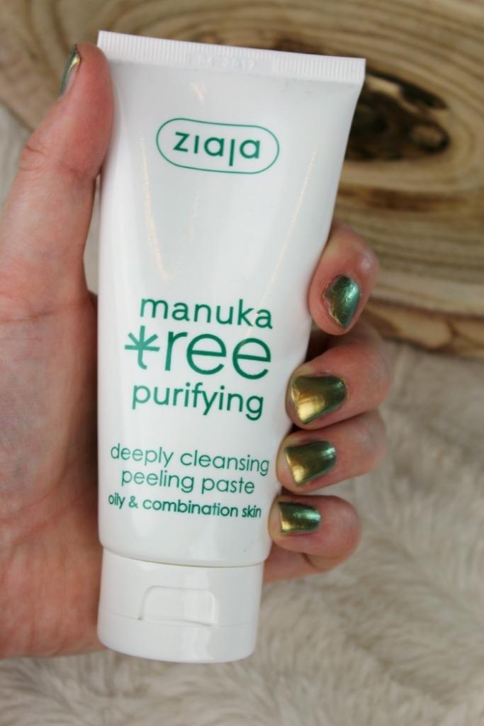 Manuka deeply cleansing peeling paste Ziaja