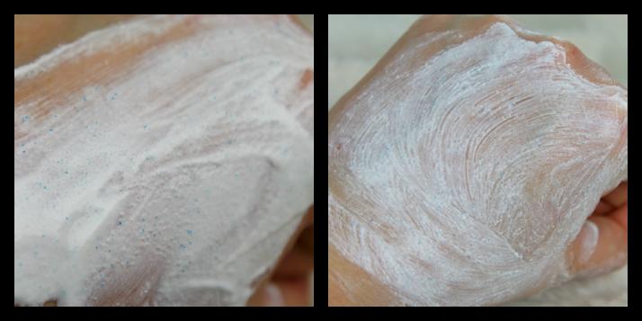 Manuka peeling paste swatches ziaja