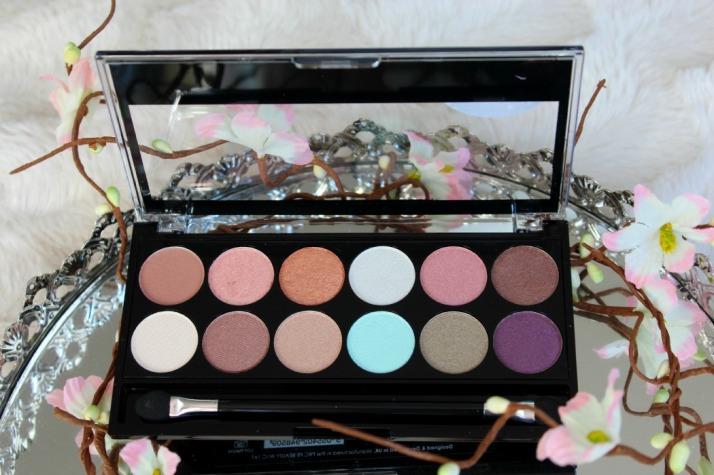 oogschaduw palette spring break makeup revolution