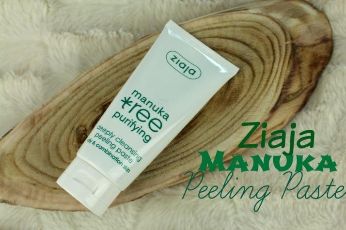 Ziaja Manuka Peeling paste